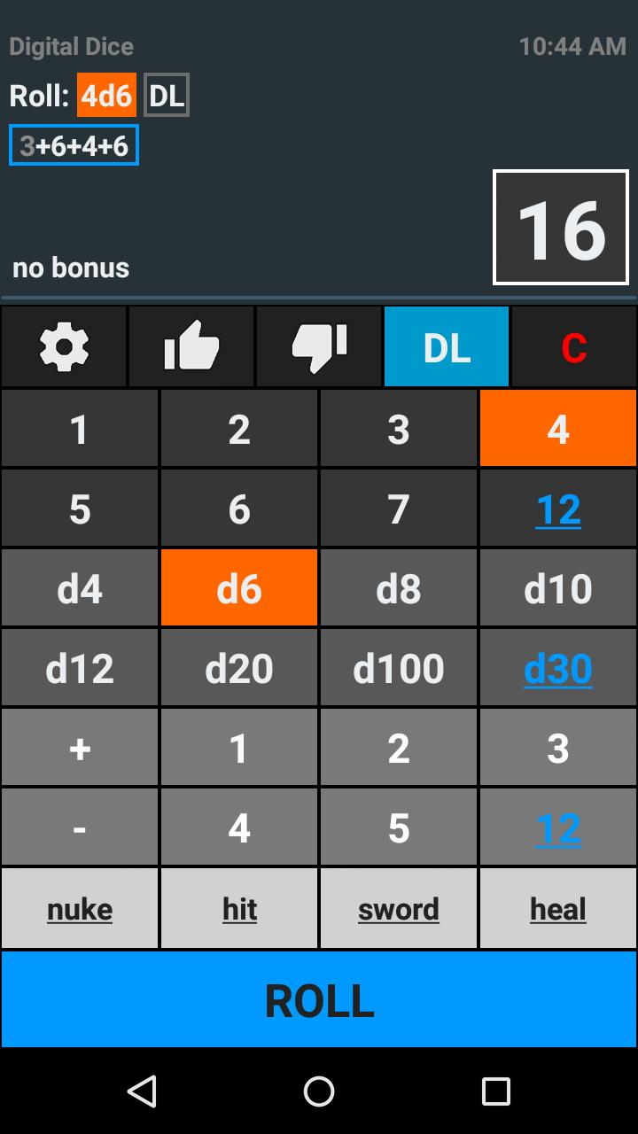 Digital Dice Roller For Android Apk Download