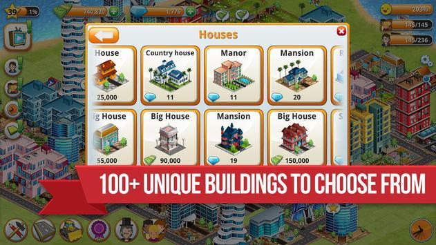Village City - Island Simulation تصوير الشاشة 12