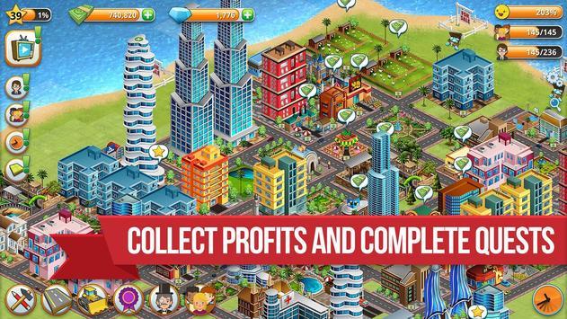 Village City - Island Simulation تصوير الشاشة 13