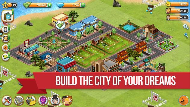 Village City - Island Simulation تصوير الشاشة 1