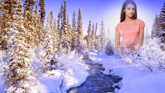 Snowfall Photo Frames screenshot 6