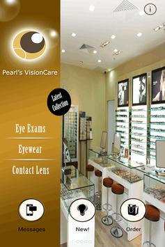 Pearl's VisionCare poster