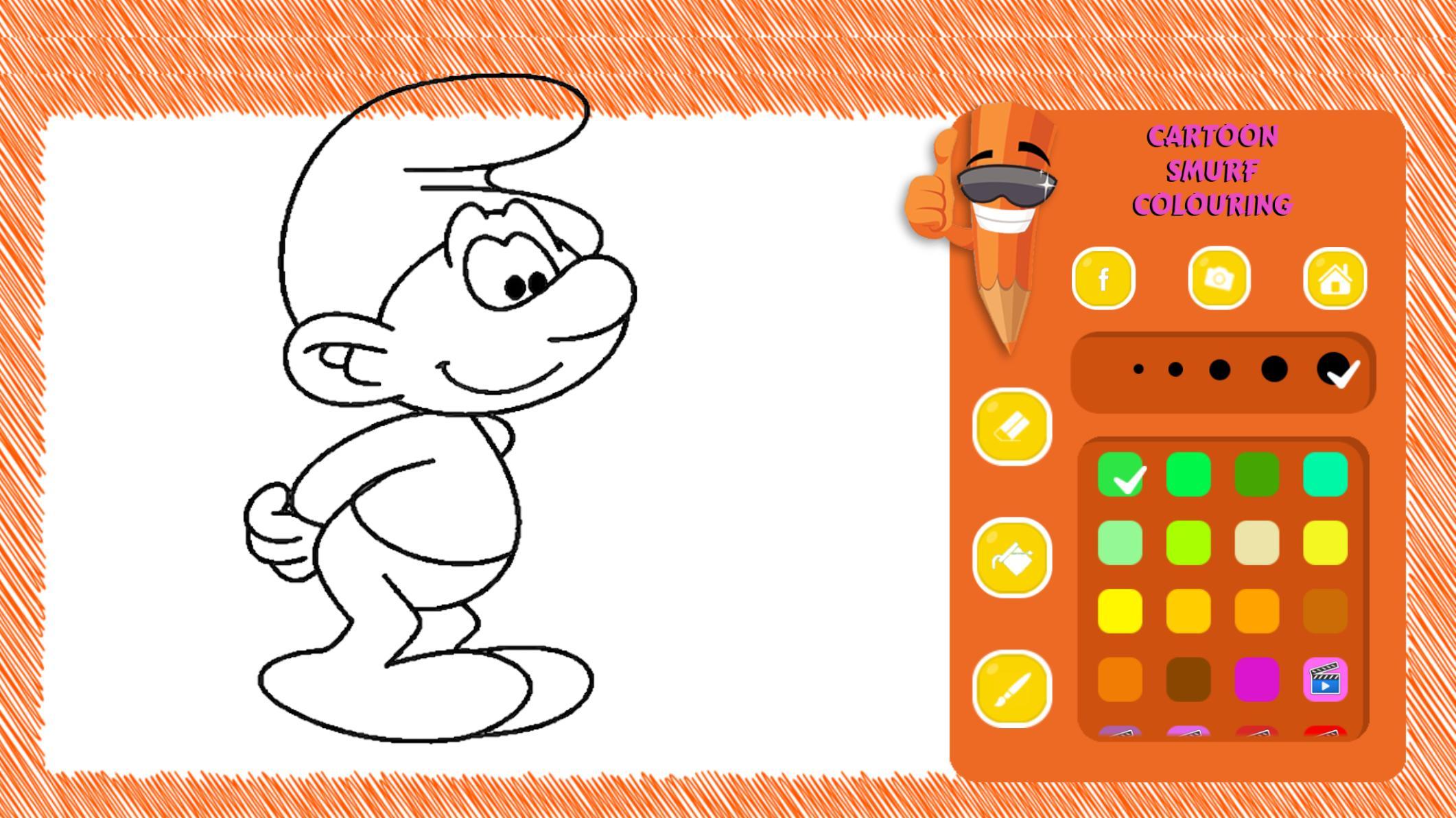 Desenhos De Smurfs Para Colorir Para Android Apk Baixar