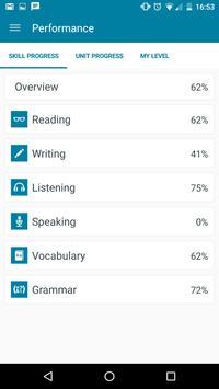 Pearson Online English apk screenshot