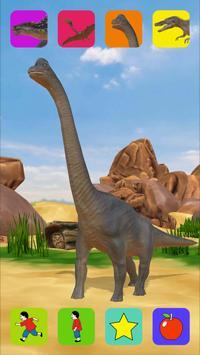 Dinosaur free kids app poster