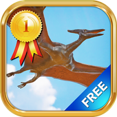 Dinosaurs for kids icon