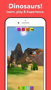 Dinosaurs for kids poster