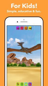 Dinosaurs for kids screenshot 1