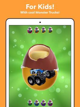 Monster Trucks Surprise Eggs For Kids 1-8 year old screenshot 9