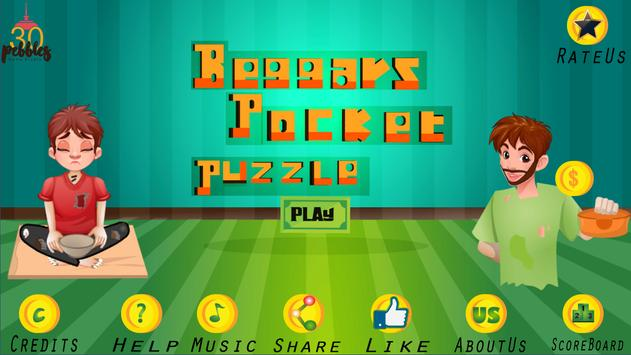 Beggars Pocket - Puzzle Game poster