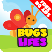 Peg Puzzle For Kids BugsLifes icon