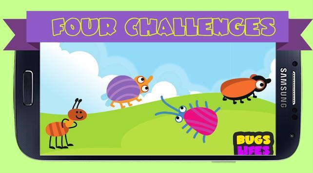 Peg Puzzle For Kids BugsLifes screenshot 3
