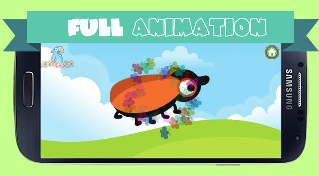 Peg Puzzle For Kids BugsLifes screenshot 1