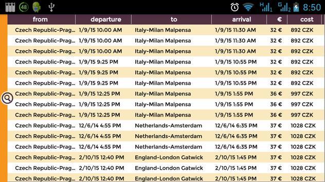 Easy Flights screenshot 2
