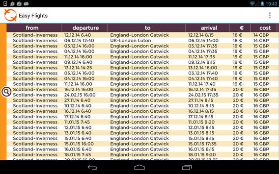 Easy Flights screenshot 5