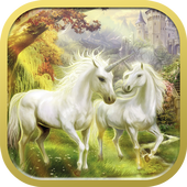 Pegasus and unicorn wallpapers icon