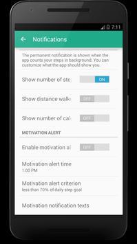 Step Counter – Calorie Counter Pedometer screenshot 1