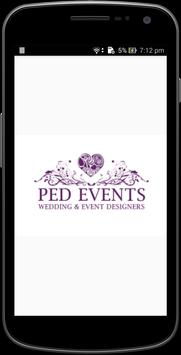 Ped events poster