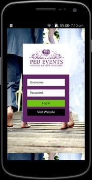 Ped events apk screenshot