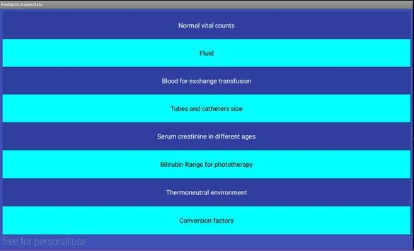 Pediatric Essentials screenshot 8