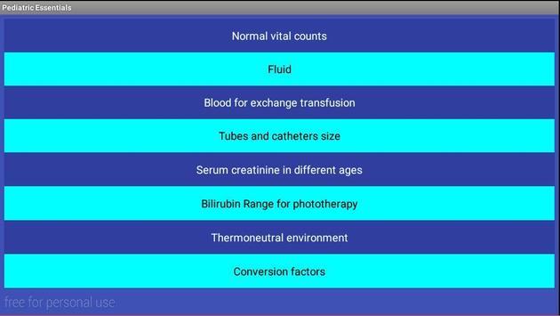 Pediatric Essentials screenshot 16