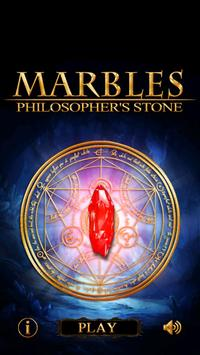 Marbles Philosopher's Stone poster