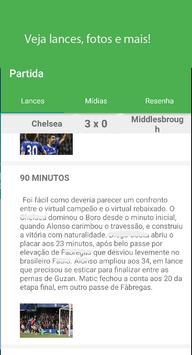 Futebol Tempo Real screenshot 1