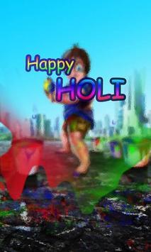 Holi Live Wallpaper poster
