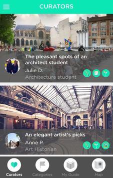 Paris - Peekily City Guide poster