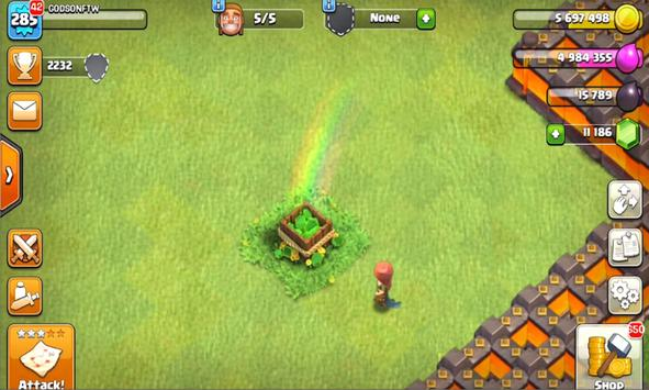New; Cheat Clash Of Clans poster