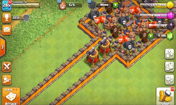 New; Cheat Clash Of Clans screenshot 1