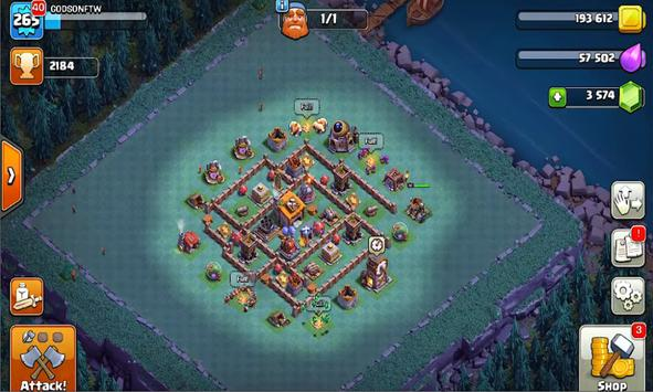 New; Cheat Clash Of Clans screenshot 9