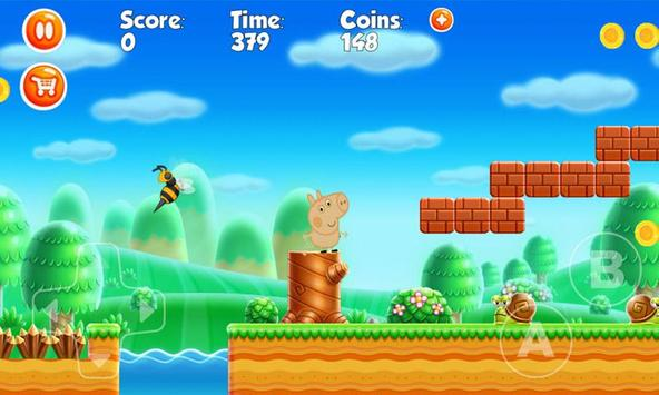 Happy Pig going on holiday games screenshot 1