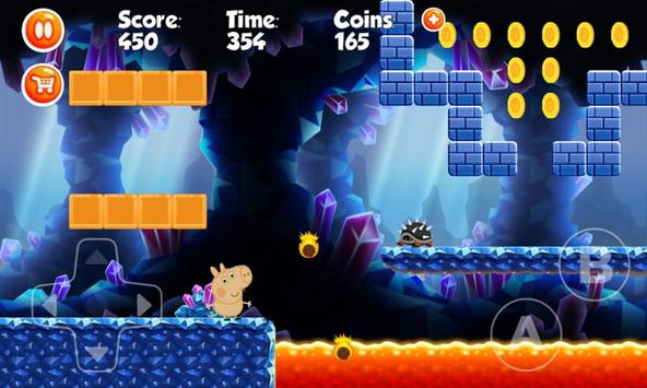 Happy Pig going on holiday games screenshot 2