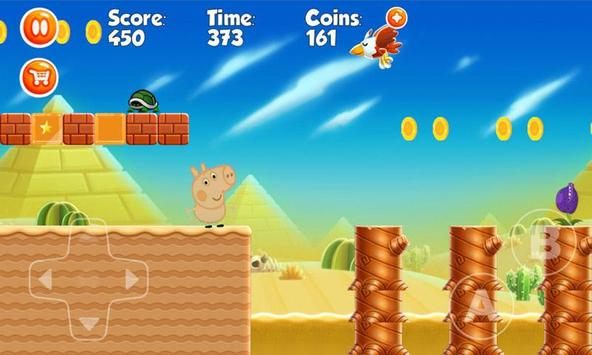 Happy Pig going on holiday games screenshot 4