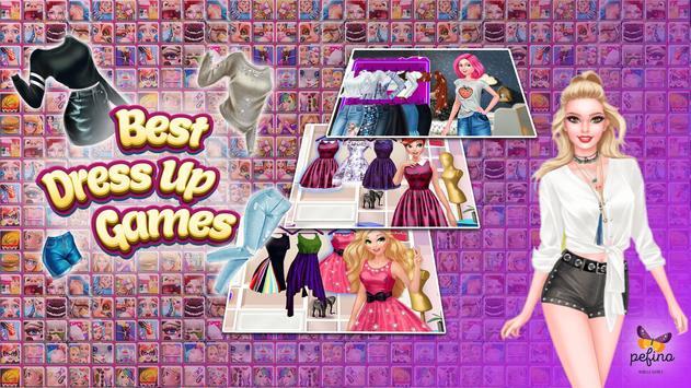 Pefino Girl Games poster