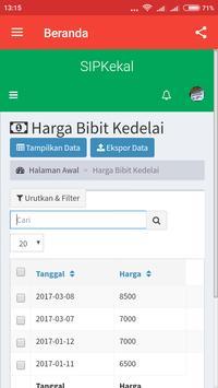 Aplikasi SIPKEKAL screenshot 1