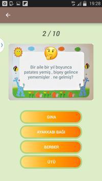 Bilmece Quiz screenshot 3