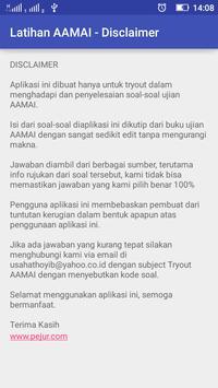 Tryout AAMAI apk screenshot