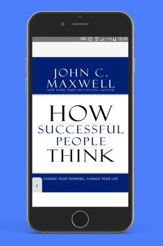 How Successful People Think - free PDF poster
