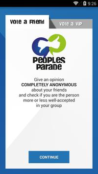 Peoples Parade poster