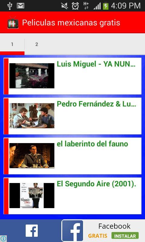 como ver peliculas mexicanas gratis en internet