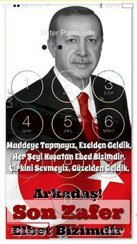 RECEP TAYYİP ERDOĞAN HD DUVAR KAĞIDI WALLPAPER poster