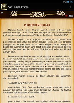 Ayat Ruqyah Syariah poster