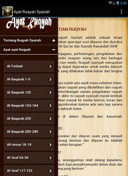 Ayat Ruqyah Syariah apk screenshot