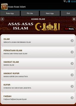 Hukum Dasar Asas Islam screenshot 1