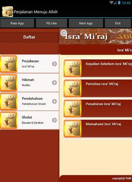 Isra Miraj  Menuju Alloh apk screenshot
