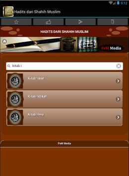 Hadits dari Sahih Muslim apk screenshot