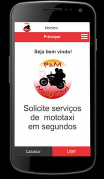 P&M Mototaxi - Cliente screenshot 1