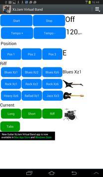 Guitar XzJamVirtual Band screenshot 2